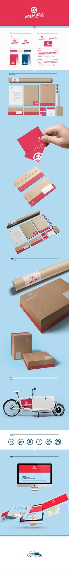 Graphic corporate design stationary business card packaging and marketing material.
