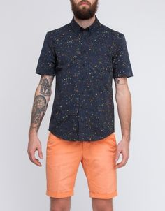 All I want is for my boyfriend to wear printed short sleeve button ups all summer...