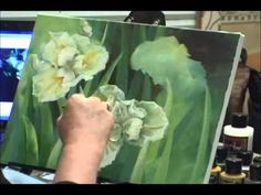 Iris Painting - Painting Lesson Featured in the Art Apprentice Online E-Magazine   http://store.artapprenticeonline.com/e-magazine-art-apprentice-online-e-magazine-for-artists-fall-winter2011-issue-10/