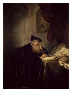 """""""Philosopher"""" 1635 - Salomon Koninck"""