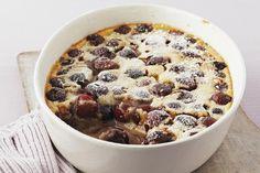 Cherry Clafouti: Traditional French Puffed Custard Cake