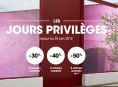 Venez profiter des jours privilèges chez La Halle aux Vêtements, de grandes réductions sur de nombreux articles.