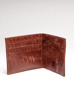 Can't beat a battered leather wallet