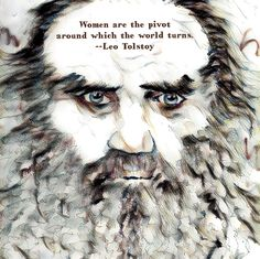 Leo Tolstoy, Russian, one of the best writers ever.