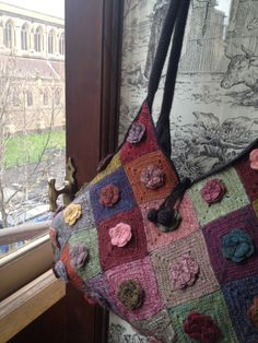 Nice bag! l'uccello: Sophie Digard brightens up our day.