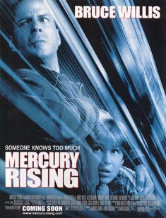 Mercury Rising (1998) Review Alec Baldwin Movies, Forms Of Autism, 1990s Films, Classic Trailers, Puzzle Books, Bruce Willis, Secret Places, Official Trailer, Mercury