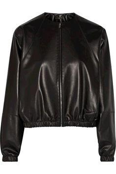 ede6d4b97e7 Clothes That Make You Feel Beautiful. Leather Flight JacketLeather JacketsBomber  ...