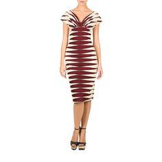 Massai Dress blood stripes - Summer Sale - Online Shop - Lena Hoschek Online Shop