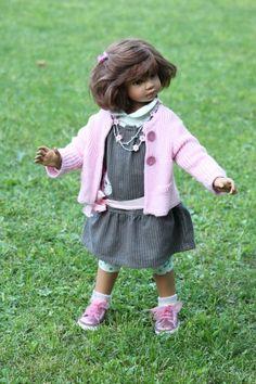 Davina OOAK от Angela Sutter / Коллекционные куклы Angela Sutter / Бэйбики. Куклы фото. Одежда для кукол