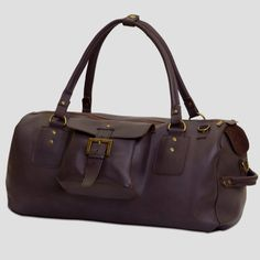 Bag made of recycled leather by the happy cow love love love
