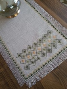 This Pin was discovered by Ayş Dmc Cross Stitch, Cross Stitch Samplers, Cross Stitch Embroidery, Hand Embroidery, Cross Stitch Patterns, Smocking Patterns, Embroidery Patterns, Blackwork, Bargello Needlepoint