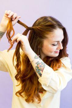 Waterfall Braid - How To Braid Hair - Women's Braided Hairstyles