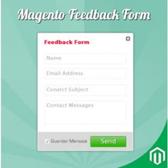 Feedback Form Extension for Magento enable quick feedback form for your customer