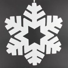 "22"" Snowflake Ornament"