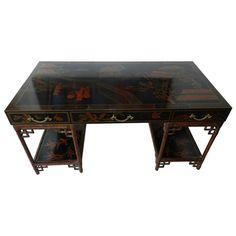 Maitland Smith chinoiserie desk