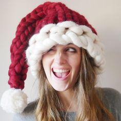 bb8ad250de8 Chunky Knit Santa Hat. Amazon ChristmasChristmas HatChristmas  ChristmasChristmas IdeasChristmas ...