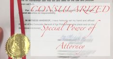 What is a Consularized Special Power of Attorney – Online and Offline Transactions Power Of Attorney, The Borrowers, Spa, Engagement, Power Of Attorney Form, Engagements