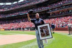 Cardinal Nation honors Chipper Jones - May 13, 2012