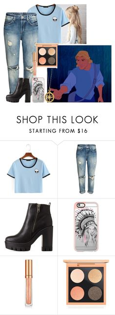 """""""John Smith - CASUAL"""" by blackest-raven ❤ liked on Polyvore featuring Charlotte Russe, Casetify, Elizabeth Arden, MAC Cosmetics and Monica Rich Kosann"""