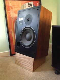 homemade speaker stands - Google Search
