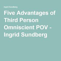 Five Advantages of Third Person Omniscient POV - Ingrid Sundberg Improve Writing, Writing Help, Writing Folders, Copy Editing, Teacher Helper, The Secret World, Writing Characters, Writing Advice