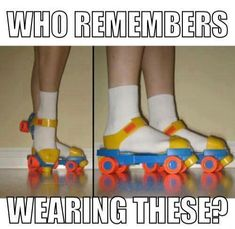 "I remember these were training roller skates and once you ""mastered"" them you could move on to the real deal. 90s Childhood, My Childhood Memories, School Memories, 80s Kids, Kool Kids, 90s Nostalgia, I Remember When, Ol Days, My Memory"