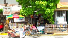 The man who turned his home into a public library in Manila