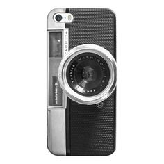 iPhone 6 Plus/6/5/5s/5c Case - Camera ($35) ❤ liked on Polyvore featuring accessories, tech accessories, phone cases, phone, cases, tech, iphone cases, apple iphone cases, iphone case and iphone cover case
