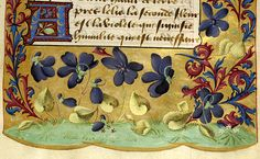 Chapelet de virginité, MS B.1 fol. 7r - Images from Medieval and Renaissance Manuscripts - The Morgan Library & Museum