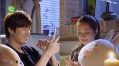 [LINE x Lee Min Ho] Lee Min Ho Sticker Talk_HK TVC