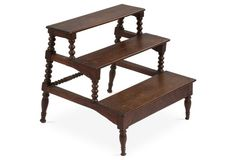 English Library Step Stool