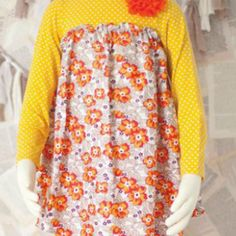 Molly&Millie Yellow/Orange Tunic from Freckles Children's Boutique for $42.00