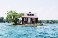 Thousand Islands, Lake Ontario, Canada. -Would love to have a house on this lake! Especially the houses on the lake! Just Dream, My Dream Home, Dream Homes, Torre Cn, Thousand Islands, Cabins And Cottages, To Infinity And Beyond, Small Island, Oh The Places You'll Go