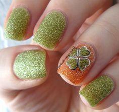 35 St. Patrick's Day Nails CherryCherryBeauty.com