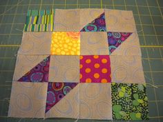 A Quilting Life - a quilt blog: Blogger's Block of the Month