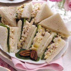 Tuna Tea Sandwiches Recipe
