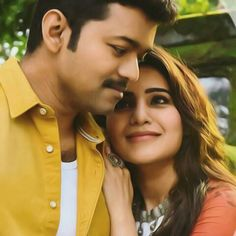 Vijay Love Couple Images, Couples Images, Couple Photos, Bollywood Couples, Bollywood Stars, Movie Couples, Cute Couples, Wedding Couple Poses Photography, Wedding Poses
