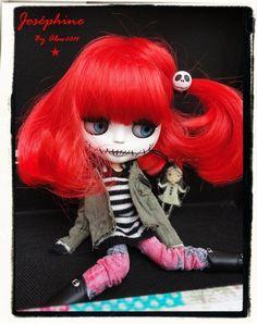 JOSEPHINE Ooak Custom Blythe Art Doll by LesTizOrphelinByAlsw