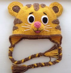 Daniel Tiger hat by Ambercraftstore on Etsy