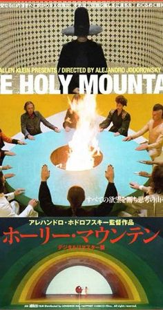 Directed by Alejandro Jodorowsky.  With Alejandro Jodorowsky, Horacio Salinas, Zamira Saunders, Juan Ferrara. In a corrupt, greed-fueled world, a powerful alchemist leads a Christ-like character and seven materialistic figures to the Holy Mountain, where they hope to achieve enlightenment.