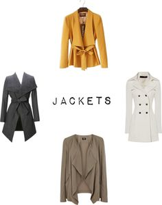 Fall Favorites! Jackets: Linen, Lace, & Love