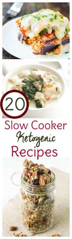 The ketogenic diet doesn't have to be hard. These 20 Crock Pot keto recipes make life on a low carb, high fat way of eating just a little easier. Fix it and forget it with slow cooker keto recipes!