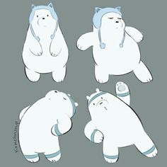 """Find and save images from the """"We bare bears🐻💓"""" collection by Jade Ching Nam Lam (jadechingnam) on We Heart It, your everyday app to get lost in what you love. The Adventure Zone, We Bare Bears, Star Vs The Forces Of Evil, Cute Bears, Force Of Evil, Petunias, The Hobbit, Cinderella, Disney Characters"""