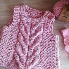 """Crochet scarf pattern d Knitting Patterns Boys, Baby Sweater Knitting Pattern, Baby Hats Knitting, Knitting For Kids, Knitted Hats, Newborn Crochet, Crochet Baby Booties, Laine Katia, Baby Dress Patterns"