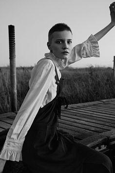 Lina Hoss shot by Dennis Stenild