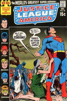 Justice League of America #86 (1960 series) - cover by Neal Adams