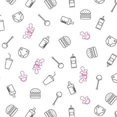 Estampa para o hamburguer do tom! ❣ #brancodesign #notebooks #estampas #pattern #instalove #instagood #chadebebe #babyboy #baby #bebe #hamburguer #burguer #mamadeira #fraldas #party #festa #familia #amigos #friends #love #graphicdesign #icons #cool #good #babies