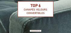 Comparatif & Avis | Meilleurs canapés velours convertible : Top 6 Deco, Compact, Inspiration, Design, Yellow Sofa, Fold Out Couch, Velvet, Divider Screen, Projects
