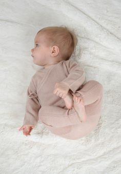 Belle Enfant Laurie Wrap Top and Footless Leggings in Rose- www.belleenfant-boutique.com