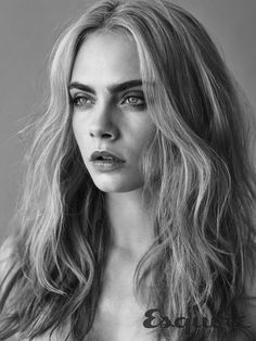Cara Delevingne for the September issue of UK Esquire.